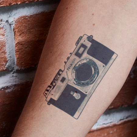 Optics by Florent Bodart is a  temporary tattoo from inkbox - 1