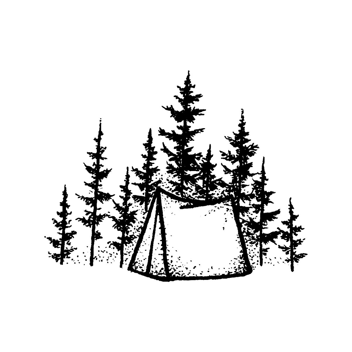 Happy Camper by Werdgra is a  temporary tattoo from inkbox - 1