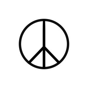Make Peace by inkbox is a  temporary tattoo from inkbox - 1