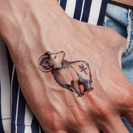 Year Of Ram by Syloarts is a  temporary tattoo from inkbox - 1