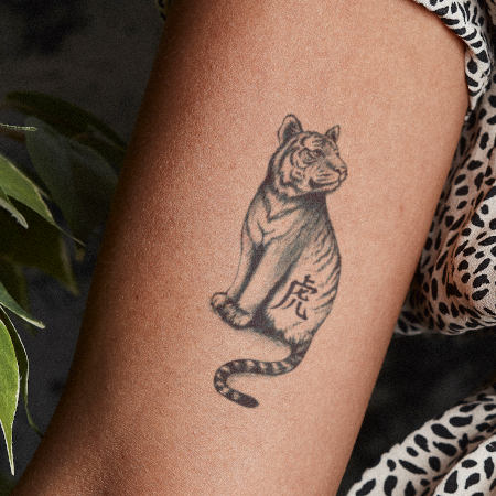 Year Of Tiger by Syloarts is a  temporary tattoo from inkbox - 1