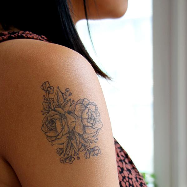 Flala by Kylie Stinson is a  temporary tattoo from inkbox - 1
