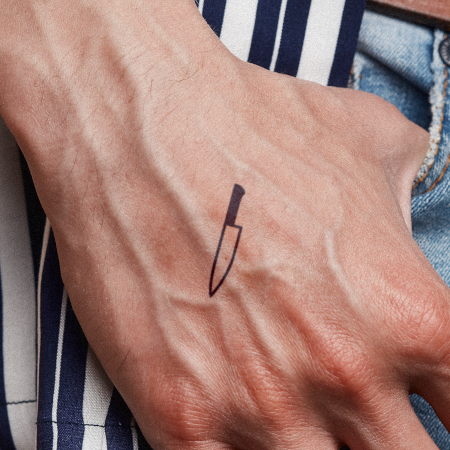 Slice by Miguel Romero is a  temporary tattoo from inkbox - 1