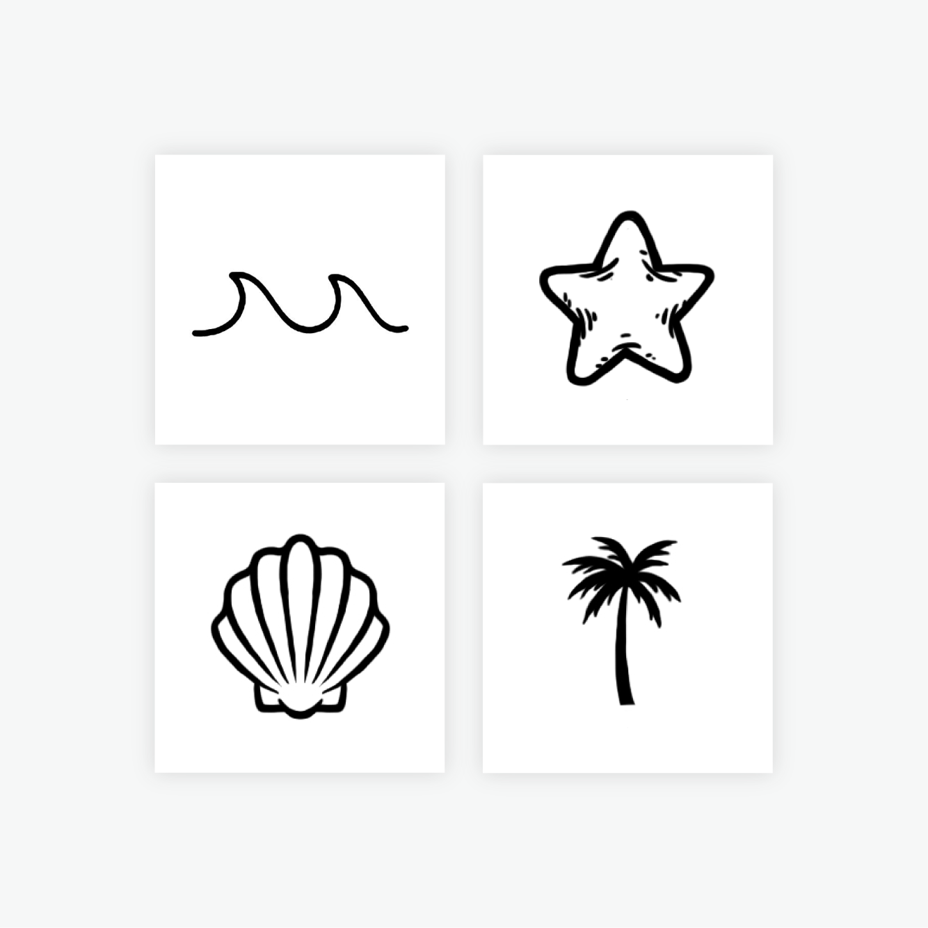 Beachy Keen by inkbox is a  temporary tattoo from inkbox - 2