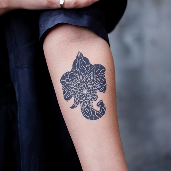 Gaja by Dillon Forte is a  temporary tattoo from inkbox - 1