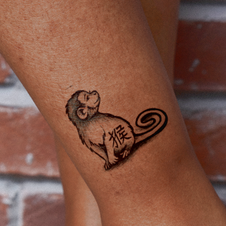 Year Of Monkey by Syloarts is a  temporary tattoo from inkbox - 1